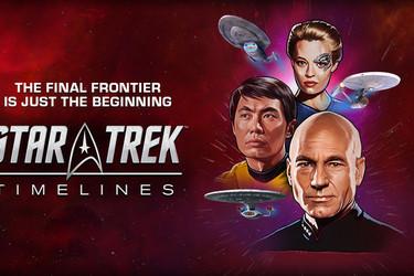 Näyttävä Star Trek Timelines -peli julkaistiin Androidille ja iOS:lle