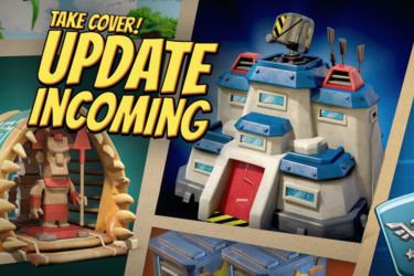 Supercell lisäsi Boom Beachiin uusia ominaisuuksia