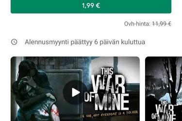 Joulun parhaat alennukset Google Play -sovelluskaupassa: Nova Launcher Prime 0,59€, This War of Mine 1,99€, Stardew Valley 3,99€ ja muita