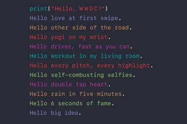 Applen WWDC-tapahtuma alkaa 13. kesäkuuta