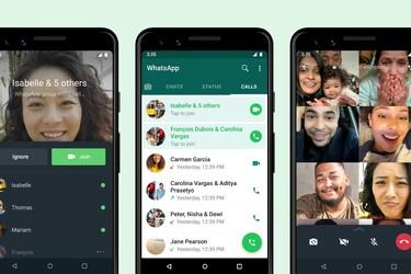 WhatsApp antaa nyt liittyä ryhmäpuheluihin niiden alkamisen jälkeen