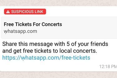 WhatsApp testaa uutta toimintoa – Varoittaa etukäteen vaarallisista linkeistä