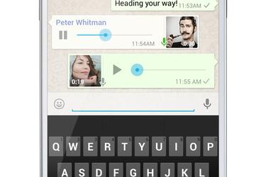 WhatsApp päivittyi: nauhoita ääniviesti napin painalluksella