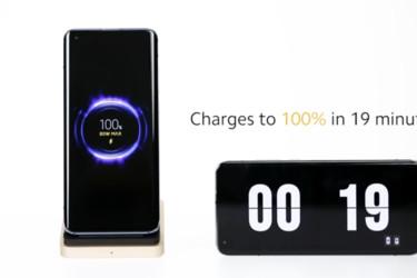 Xiaomi julkisti hurjan 80 watin langattoman Mi-lataustekniikan - 4000 mAh akku täyttyy 19 minuutissa