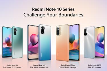 Xiaomilta neljä Redmi Note 10 -puhelinta: kohokohtana Note 10 Pro 108MP:n kameralla ja 120Hz AMOLED-näytöllä