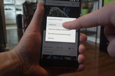 Opas: Näin etsit lataamasi tiedostot Androidilla