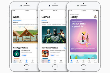 Valon pilkahdus Applelle: App Store takoo edelleen ennätyksiä