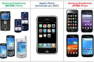 Oikeus: Samsung määrättiin maksamaan miljoonien dollareiden korvaukset Applelle