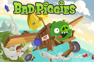 Bad Piggies saapui vihdoin Lumia-puhelimeesi