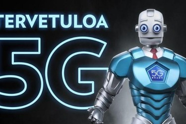 5G-verkot avautuivat Suomessa