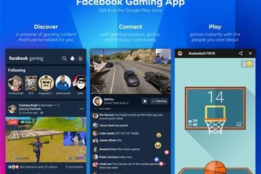 Facebook Gaming -sovellus saapui ladattavaksi Androidille
