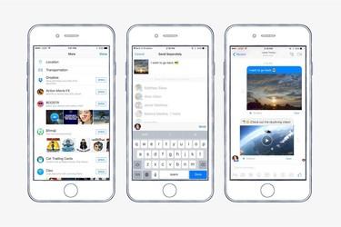 Facebook Messenger sai tuen Dropboxille