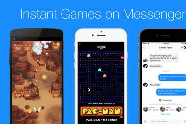Pac-Maniä voi pelata kavereita vastaan myös Facebook Messengerissä