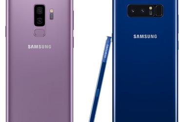 Suurten Samsungien taistelu: Kumpi kannattaa hankkia, Galaxy S9+ vai Note8?