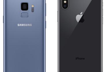 Arkkiviholliset vastakkain: Kumpi ostaa Samsung Galaxy S9 vai iPhone X