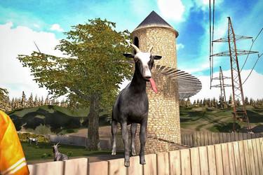 Kulttipeli Goat Simulator saapui iOS:lle ja Androidille