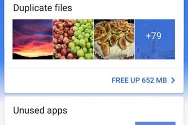 Googlelta ilmainen sovellus Androidin tiedostonhallintaan - ja tilaongelmiin