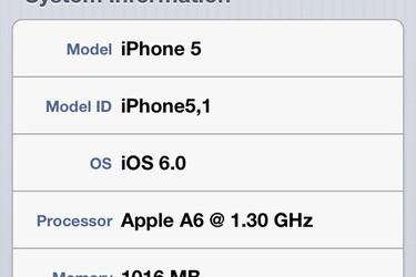 iPhone 5:n prosessori onkin nopeampi kuin aiemmin luultiin