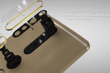 Lenovon Tango-puhelin mahdollistaa virtuaalisisustamisen ja muut AR-sovellukset