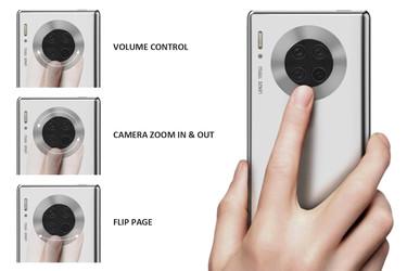 Huawei tuomassa seuraavaan huippupuhelimeen erikoisen kosketusrenkaan?