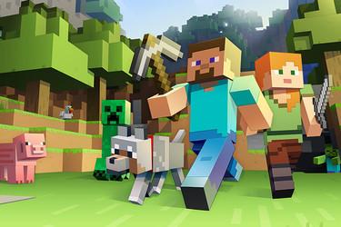 Minecraft haastaa Pokemon Gon? Uutta tietoa pelistä tulossa pian