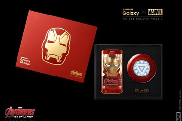 Samsung julkaisi Galaxy S6 edge Iron Man Limited Editionin