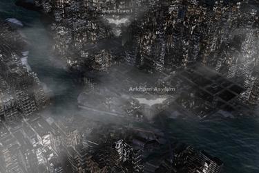 Batmanin kotikaupunkia voi nyt ihastella Nokian 3D-kartoilla