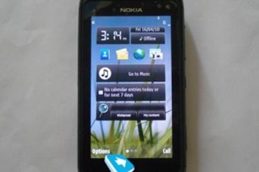 Nokia N8 mobiiligurun ensitestissä