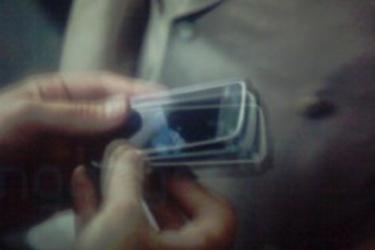 Nokian Tube uudessa Batman-elokuvassa; käyttöliittymästä kuvankaappauksia