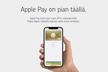 Vihdoinkin: Apple Pay toimii nyt Osuuspankkien korteilla