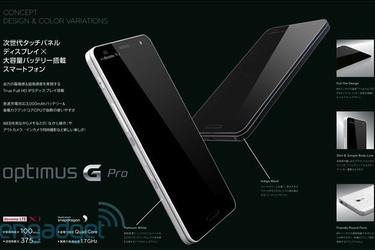 LG Optimus G Pro -vuoto: Full HD -näyttö, neliydinsuoritin ja muut herkut
