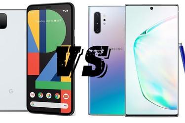 Kumpi on parempi? Vertailussa Pixel 4 XL ja Galaxy Note10