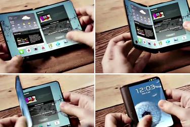 Samsung lisää vettä myllyyn – Taitettava älypuhelin on tulossa!