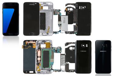 Samsung esittelee Galaxy S7:n purettuna, iFixitiltä arvio