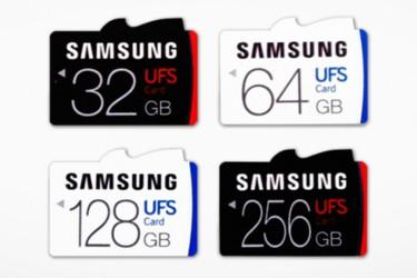 Maailman ensimmäiset huippunopeat UFS-muistikortit Samsungilta