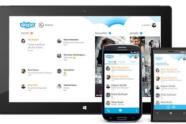 Skype korvaa ulkomaanpuheluita nopeaa tahtia