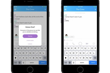 Snapchatissa voi poistaa viestejä – Näin se tapahtuu