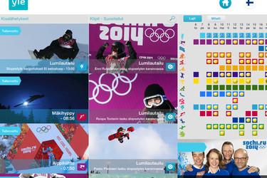 Katso olympialaisten avajaiset ja noin 700 tuntia lähetystä mobiilisti
