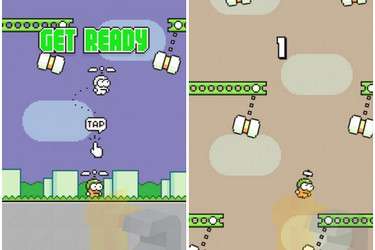Flappy Birdin tekijän uusi peli Swing Copters nyt ladattavissa