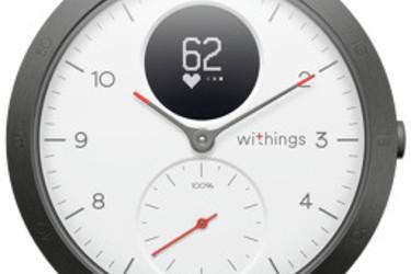 Testissä älykello oikealla kellotaululla: Withings Steel HR Sport