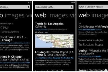 Windows Phone 8:n hakuominaisuudet päivittyvät