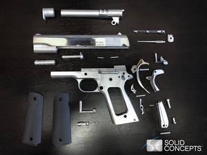 Videolla: Maailman ensimmäisen metallisen 3D-tulostetun aseen koeammunnat