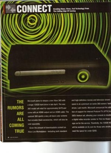 Rumored Black Xbox 360 makes appearance in gaming magazine