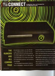 Musta ja paranneltu Xbox 360 esillä pelilehdessä