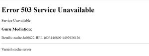 Iso siivu nettiä katosi hetki sitten: Reddit, StackOverflow, Spotify, ebay, Amazon.. kaikki nurin