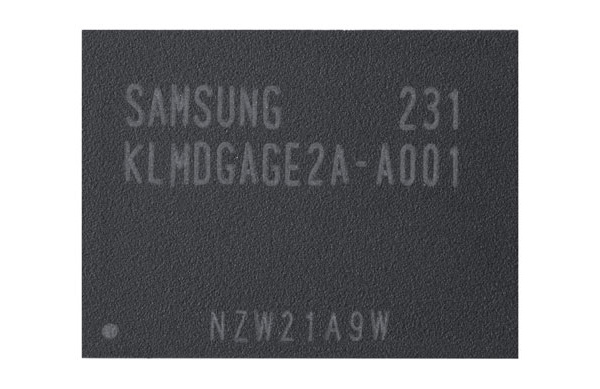 Samsung aloitti 128 gigatavun muistipiirien valmistuksen mobiililaitteille