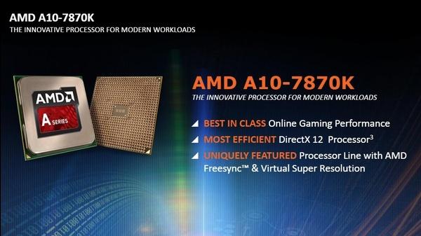 AMD julkaisi toistaiseksi nopeimman APU-suorittimen
