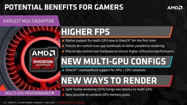 AMD hehkuttaa DX12-rajapinnan tuomia uutuksia