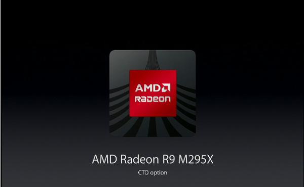 AMD:n vielä julkaisematon Radeon R9 M295X -näytönohjain uudessa iMacissa