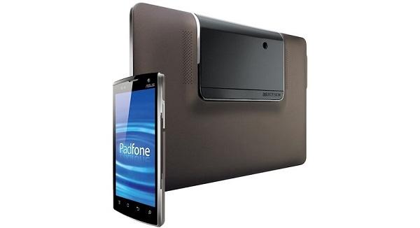 Asus Padfone myyntiin huhtikuussa - yhdistää tabletin ja älypuhelimen